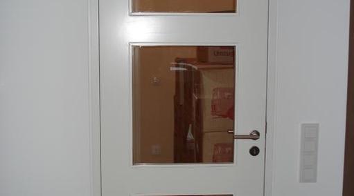 Zimmertür Weißlack