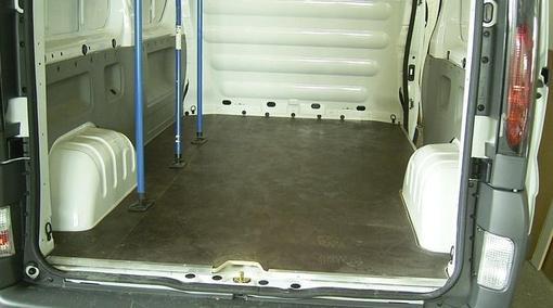 Transporter Bodenplatte
